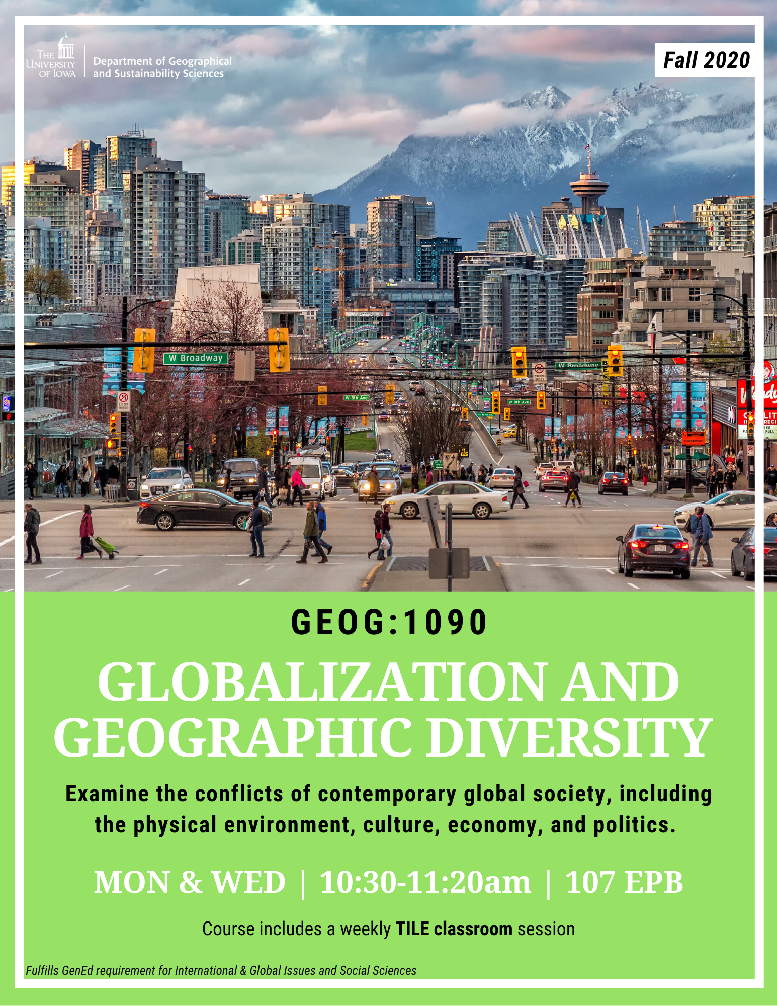 globalization and geographic diversity