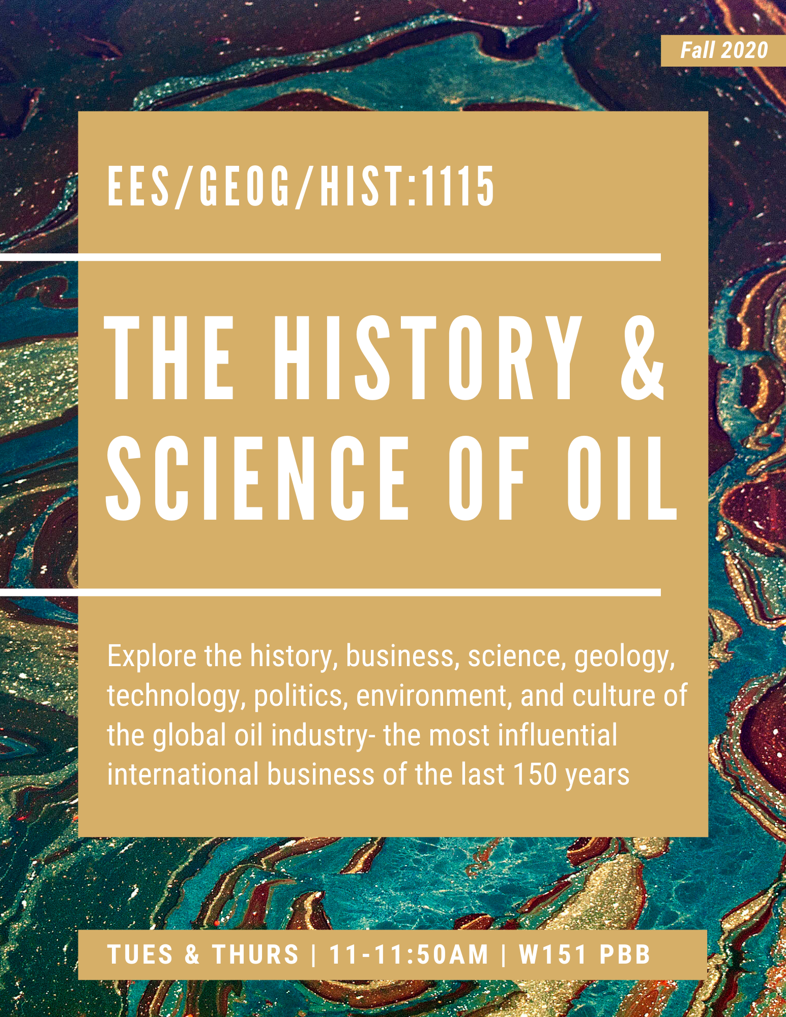 HISTORY & SCIENCE OF OIL