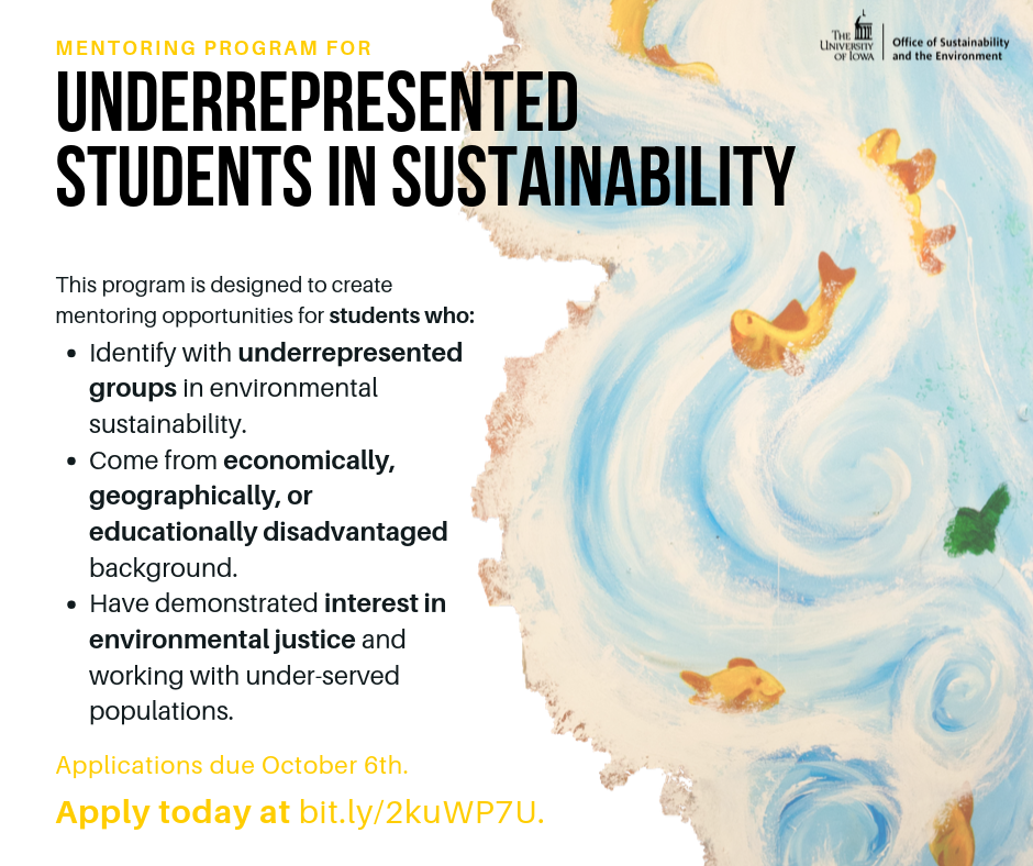 underrepresented students in sustainability social media