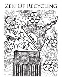 Zen Coloring Book Design Contest Office Of Sustainability And The