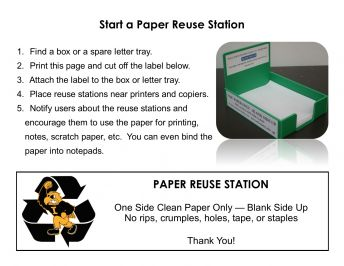 Paper reuse toolkit