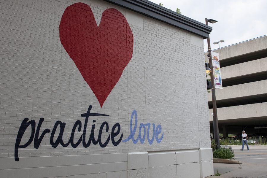 practice love mural