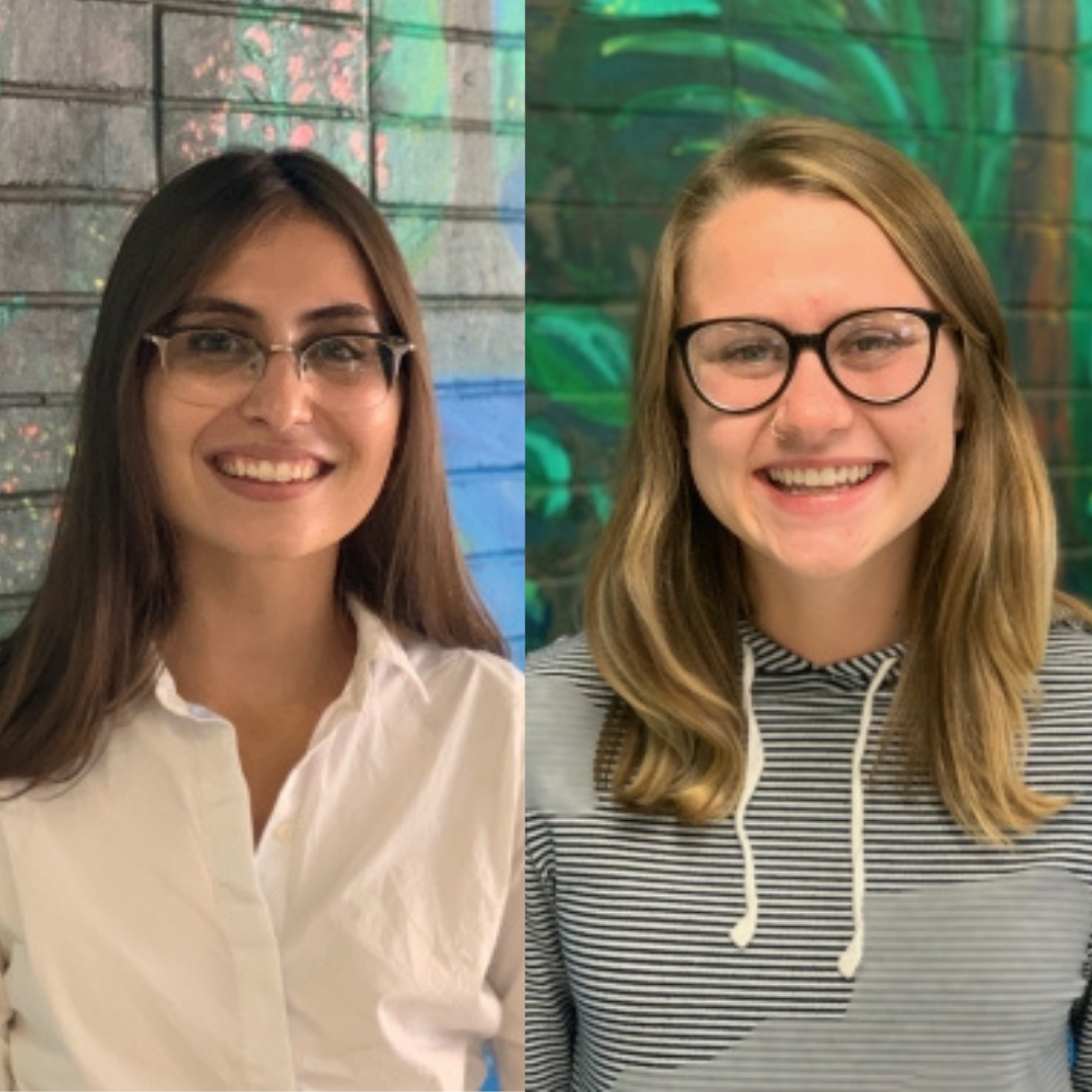 Hallie Lartius & Julia Krist, UI OSE interns who presented at the 2020 AASHE Conference
