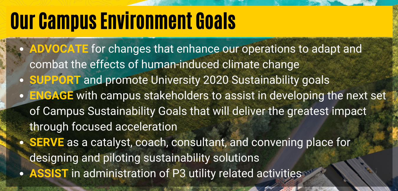 Our Campus Environment Goals