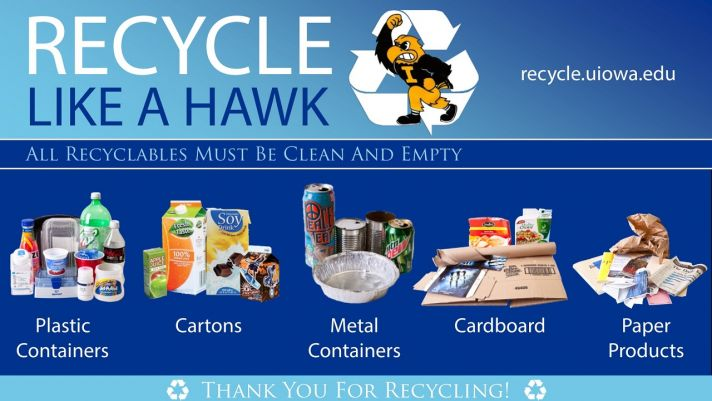 Recycle Like a Hawk Digital Display 1280x720
