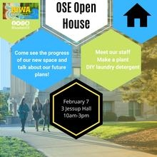 Office of Sustainability and the Environment Open House
