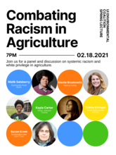University of Iowa Environmental Coalition Presents: Combating Racism in Agriculture