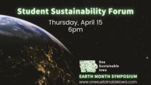 Student Sustainability Forum