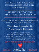 Holiday Warmth Open House