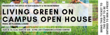 On Iowa! Living Green on Campus and Beyond