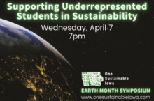 Supporting Underrepresented Students in Sustainability