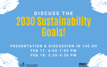 UI 2030 Sustainability Goals Listening Post