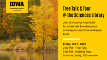 Tree Talk & Tour at the Sciences Library