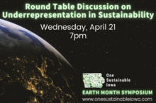 Round Table Discussion on Underrepresentation in Sustainability