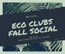 UI Green Fall Social