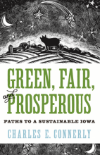 "The cover of ""Green, Fair, and Prosperous,"" written by Charles Connerly."