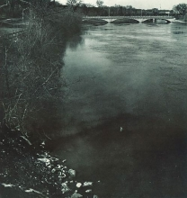 hawkeye yearbook archive photo of Iowa River