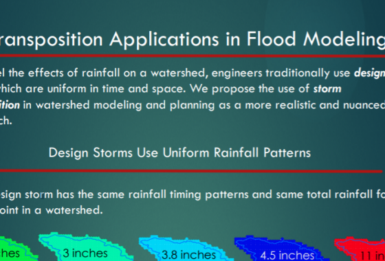 Storm Transposition Applications in Flood Modeling
