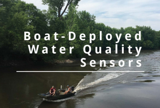 Boat-Deployed Water Quality Sensors