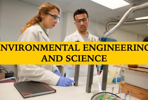 M.S. in Civil & Environmental Engineering, Environmental Engineering and Science (EES)