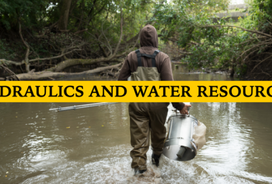 M.S. in Civil & Environmental Engineering, Hydraulics and Water Resources