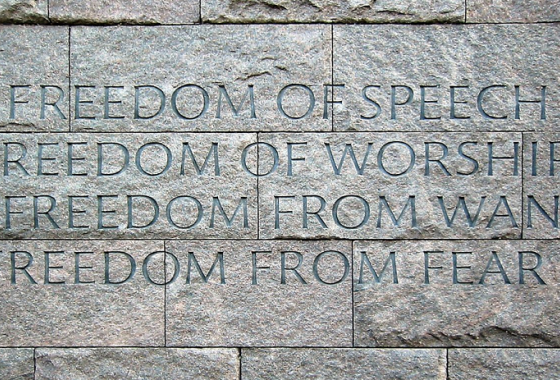 human rights stone